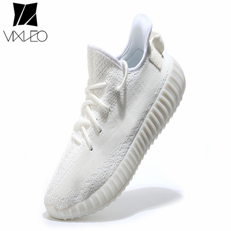 VIXLEO 2018 Casual Shoes Men Breathable mesh Unisex shoes brand Femme Chaussure Ultras Boosts Superstar Shoes Size 36-45 vixleo air mesh breathable men casual shoes high top pu leather shoes lace up superstar light leisure men shoes size 39 44