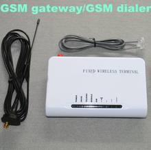 GSM 900MHz/1800MHz Fixed Wireless Terminal Gateway Conect desktop phones or Telephone Line Alarm System use Sim Card to MakeCall