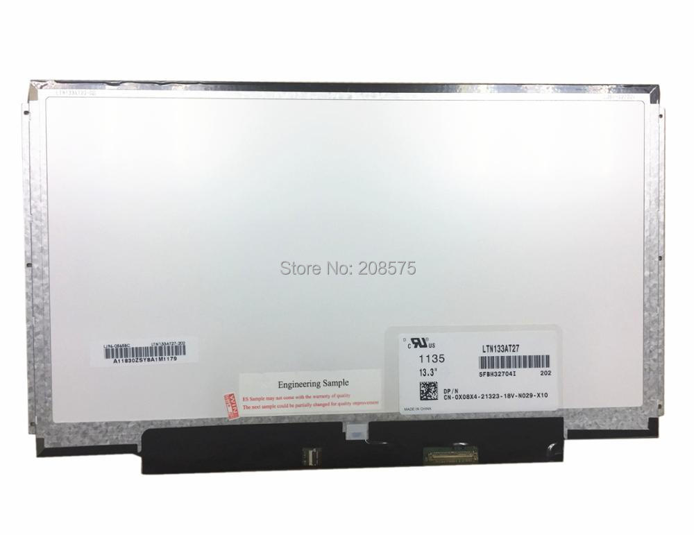 Free Shipping ! LTN133AT27 CLAA133WA01A B133XW03 B133XW01 V.0 B133XW01 V.1 LP133WH2-TLM4 Laptop LED Screen 1366*768 40pins