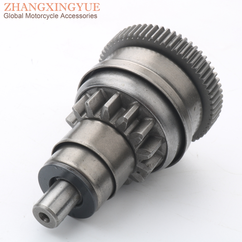 Scooter Starter Motor Clutch Gear For PIAGGIO Diesis 50 Free Delivery Free FL Quartz 50 Typhoon 50cc 14T/63T 100254670 2T 82531R