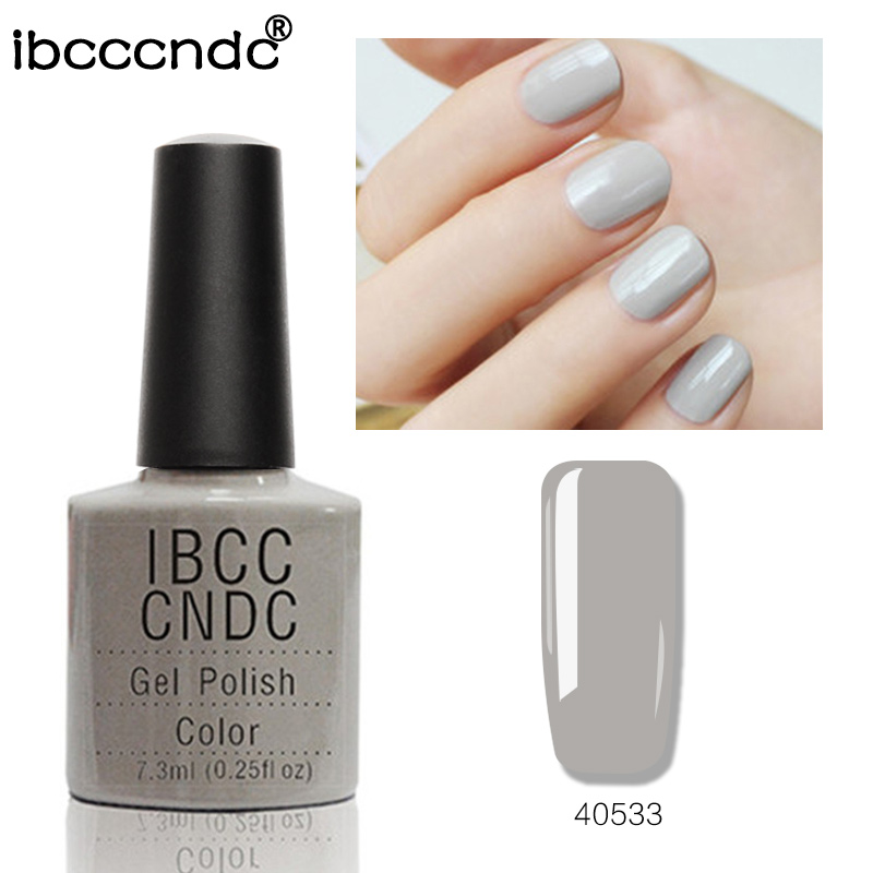 Ny IBCCCNDC Semi-permanent Nail Gel Polish Salon Nail Art Lack Soak - Nagel konst
