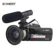 KOMERY Video Camera 1080P Full HD Portable Digital Video Cam