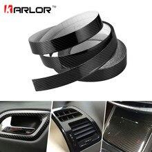 2 centimetri * 10m 3D 4D 5D In Fibra di Carbonio Pellicola Dell'involucro Del Vinile FAI DA TE Auto Adesivi E Decalcomanie Del Veicolo Moto car Styling Accessori Auto