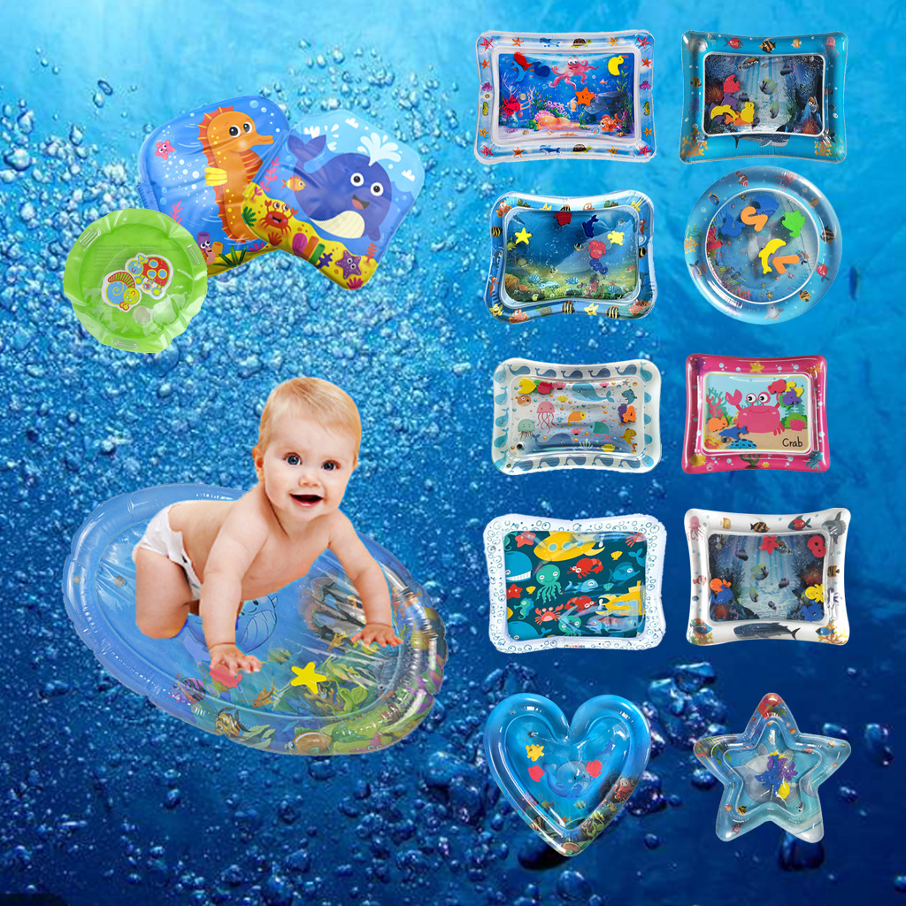 Creative Dual Use Toy Baby Inflatable Patted Pad Baby Inflatable Water Cushion Prostrate Water Cushion Pat Pad Toy PVC 2-4YCreative Dual Use Toy Baby Inflatable Patted Pad Baby Inflatable Water Cushion Prostrate Water Cushion Pat Pad Toy PVC 2-4Y