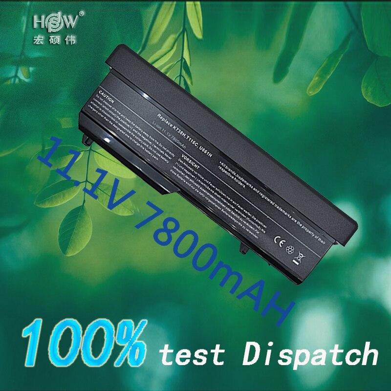 HSW 9 cellulaire aptop Batterie Pour dell Vostro 1310 1320 1510 1520 1521 2510 K738H N950C N956C N958C T112C T114C t116C U661H bateria
