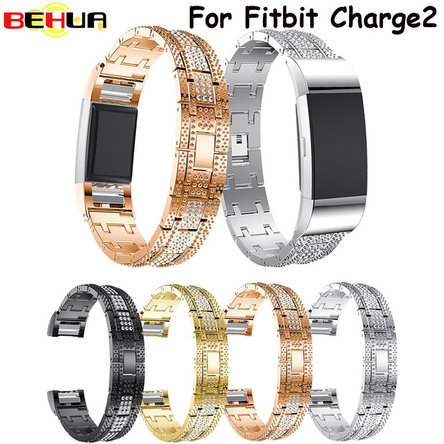 leather small alta silver p fitbit band bands bling hr wristband item for strap bracelet s
