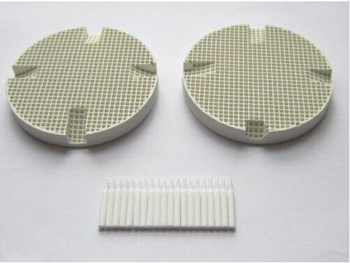 2pcs Dental Lab Honeycomb Firing Trays w/ 20 Zirconia Pins FreeShip