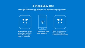 Image 5 - Xiao mi Original mi jia prise intelligente prise améliorée double chargeur rapide USB ZigBee/prise de base USB sans fil WiFi mi contrôle de lapplication à domicile
