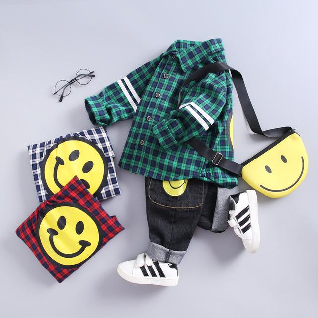 Baby Boy's Cotton Casual Clothes Set