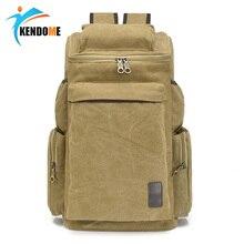 Hot Man's Canvas Backpack Travel Schoolbag Male Backpack Men Large Capacity Rucksack Shoulder School Bag Mochila Escolar
