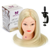 Hairstyles Doll 24 30 Animal Hair Mannequin Hairdressing Training Salon Hair Styling Practice Head Doll For