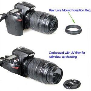 Image 3 - Ống Kính Macro Xếp Adapter Vòng Bảo Vệ 52 MÉT cho d90 d3100 d3200 d3300 d5100 d5200 d5300 d7000 máy ảnh