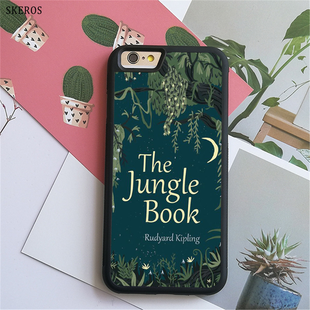 SKEROS The Jungle Book 6 (3) phone case for iphone X 4 4s 5 5s 6 6s 7 8 6 plus 6s plus 7 & 8 plus #B751