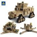 KAZI 1463 шт Строительные блоки M1A2 ABRAMS Военный танк оружие игрушки 1:28 MBT и 1:18 HUMMER Масштаб Модель игрушки для детей