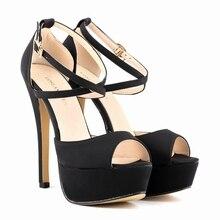 Haute qualité Fashion Style Rome femmes sandales couverture talons plate – forme haute talons sandales de bal chaussures de dame