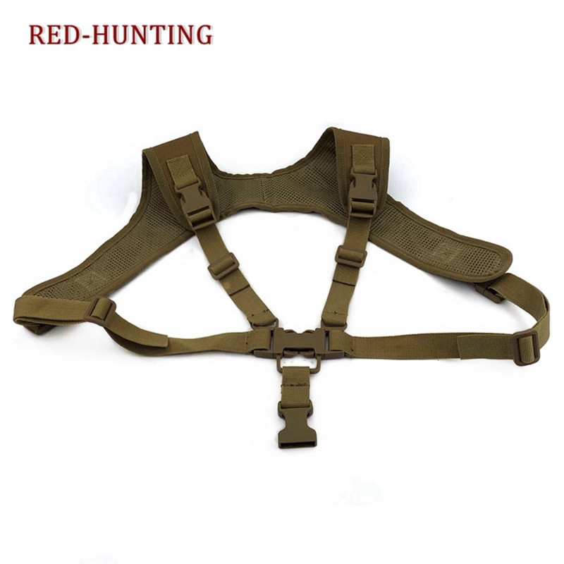Tactical Adjustable Harness Rifle Sling Hanging Shoulder Gun Strap System