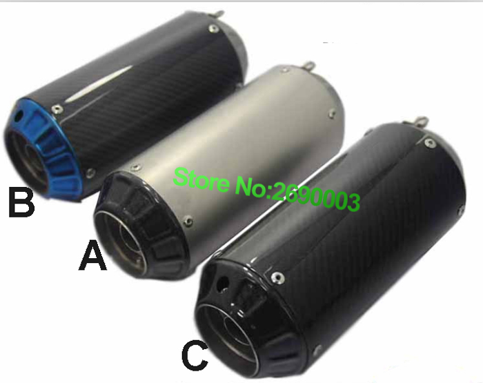 R25R3R30R15 modified Motorcycle Exhaust Pipe/Exhaust Muffler Escape damper for BJ300/BJ600 With Full Accessories