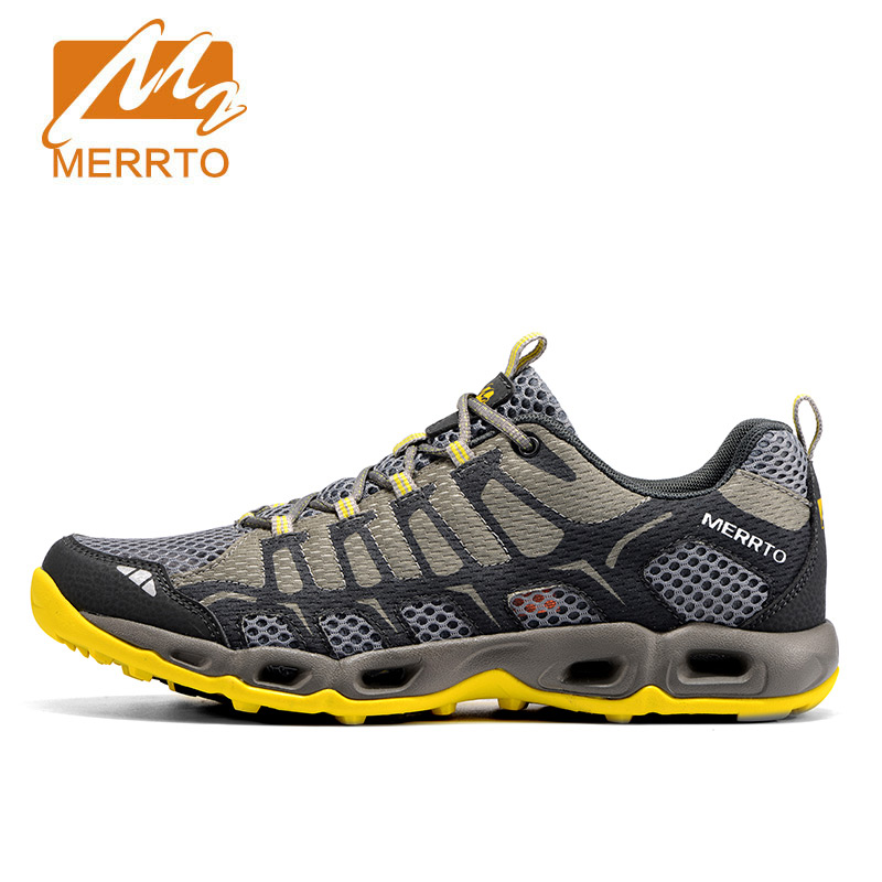 MERRTO 2017 New Arrival Man Running Shoes Sport Shoes For Men Anti Microbial Breathable Running Athletic Air Cushion Sneakers peak sport men outdoor bas basketball shoes medium cut breathable comfortable revolve tech sneakers athletic training boots