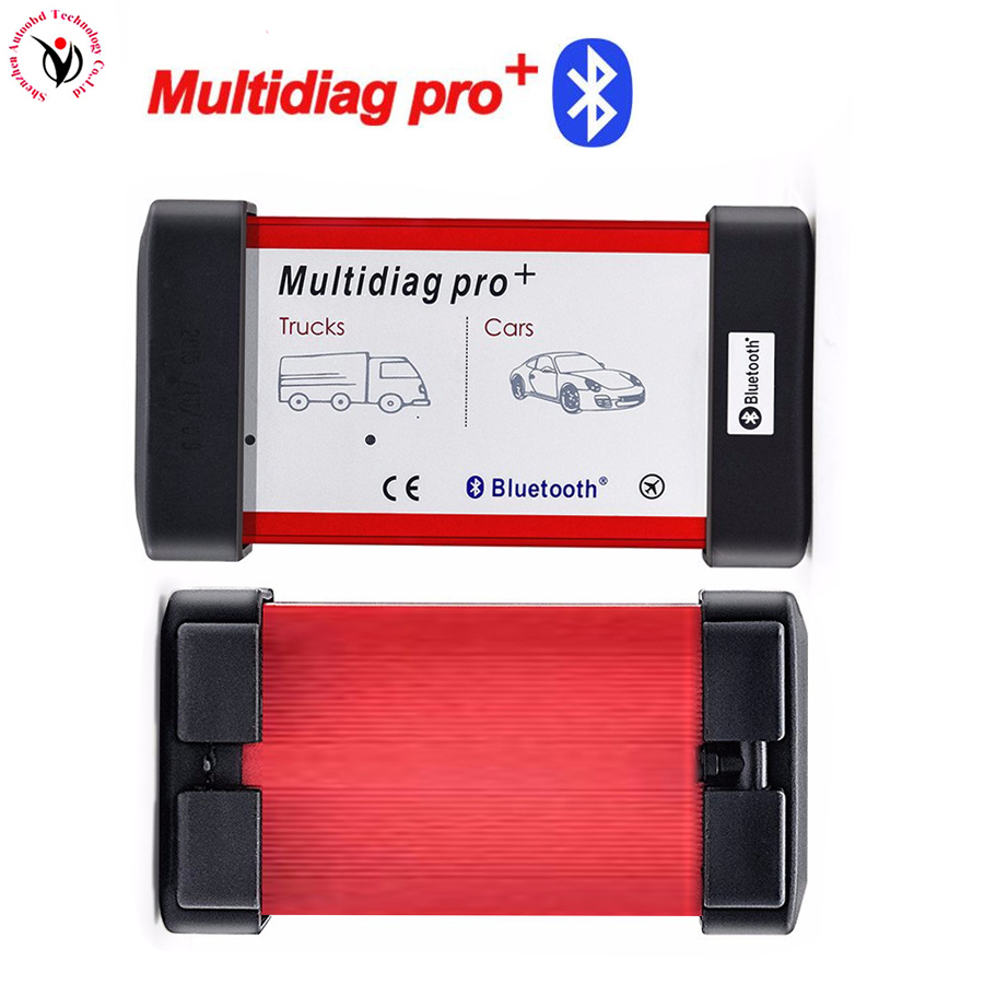 DHL Red Color Multidiag Pro Bluetooth New Vci VD TCS CDP