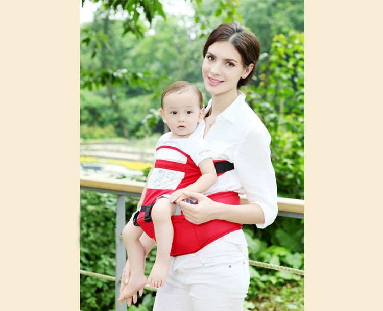 b8f387509cc Becute Baby Carrier Adjustable Newborn Baby Sling Portable ...