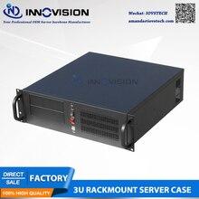 Промышленный компьютер RC3450A 3U корпус для монтажа в стойку/3U чехол для сервера для облачных вычислений и т. Д