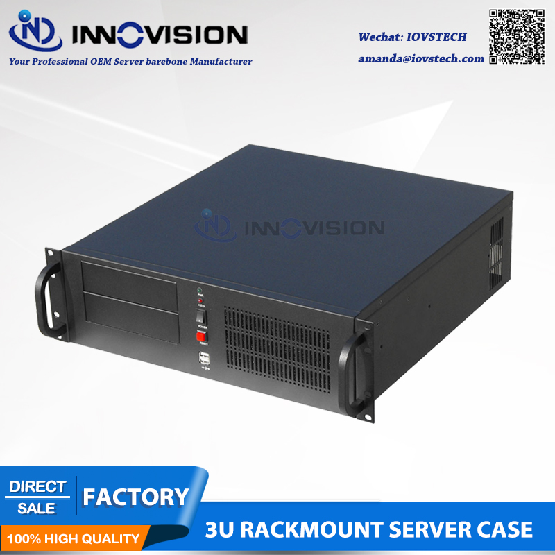 Industrial Computer RC3450A 3U Rack Mount Chassis/3U Server Case For Cloud Computing Etc.