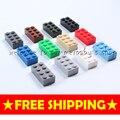 Игрушки высокого кирпич 2*4 38 P DIY малыш woma алмаз Building blocks enlighten playmobil ABS decool lego Совместимы minecraft