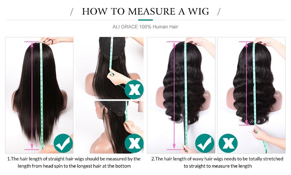 measure wig
