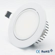 5 Вт 9 Вт 12 Вт Диммируемый светодиодный светильник COB Потолочный Точечный светильник 85-265 в потолочный встраиваемый светильник s Внутреннее освещение+ светодиодный драйвер