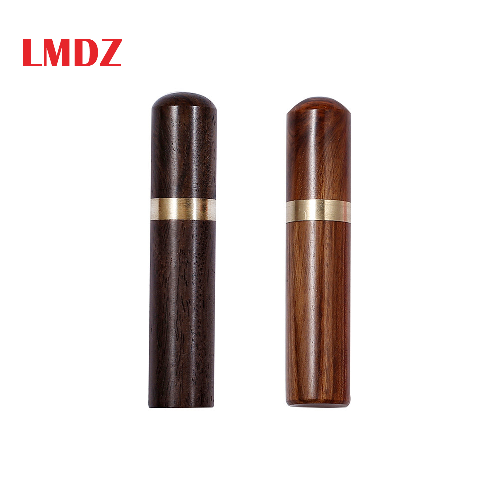 LMDZ Portable Mini Sewing Needles Storage Needle Case Wooden Felting Pins Container Sewing Tools For Storing Knitting Holder