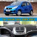 Dashmats car-styling accesorios del coche del tablero de instrumentos cubierta para Maruti Suzuki Celerio A-star Alto 2009 2010 2011 2012 2013