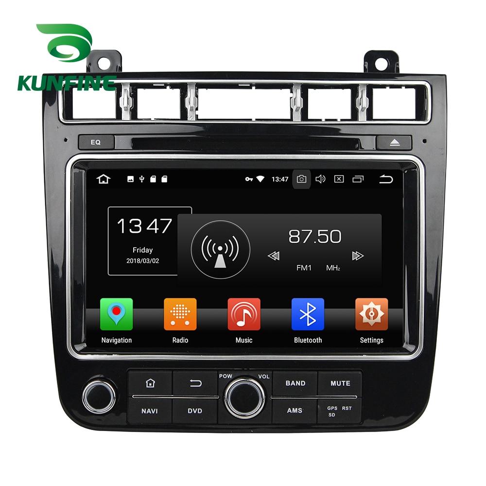 Octa Core 4GB RAM Android 8.0 Car DVD GPS Navigation Multimedia Player Car Stereo for VW TOUAREG 2015-2016 Radio Headunit WIFI