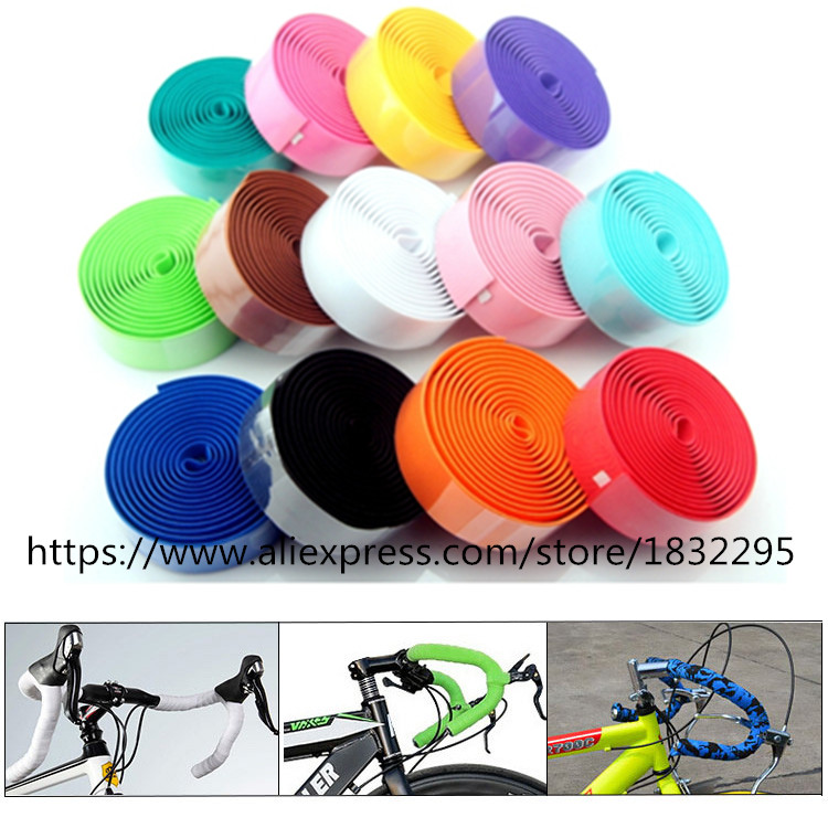 HOT Professional Road Cycling Handlebar Tape 4 Patterns Anti-slip Anti-sweat S.R.EVA Road Bike Bicycle Handlebar Tape Wrap