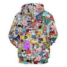 Anime Cartoon Hoodie 2017