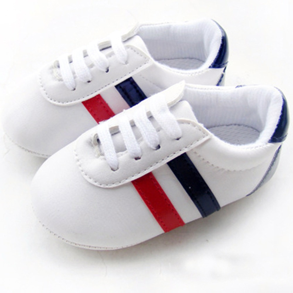 New Baby PU LeatherToddler First Walker Soft Soled Baby Girls Shoes Newborn Boys Sneakers For 0-12M