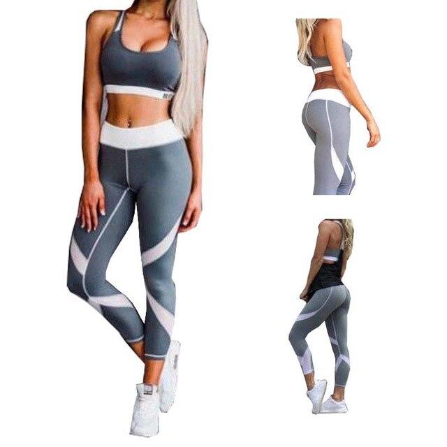 CALOFE 2017 Slim fit Sexy Fitness Yoga Pants Womens Sport Pants Leggings  Gym Women Running Tights Pants Womens joggers pants 5106ca7854d0