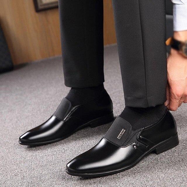 Leather Formal Shoes - Zapatos De Hombre De Vestir 2