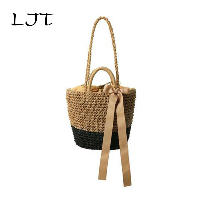 Ljt pure handmade straw bag luxe beach bag luxury designer for Designer beach bags and totes
