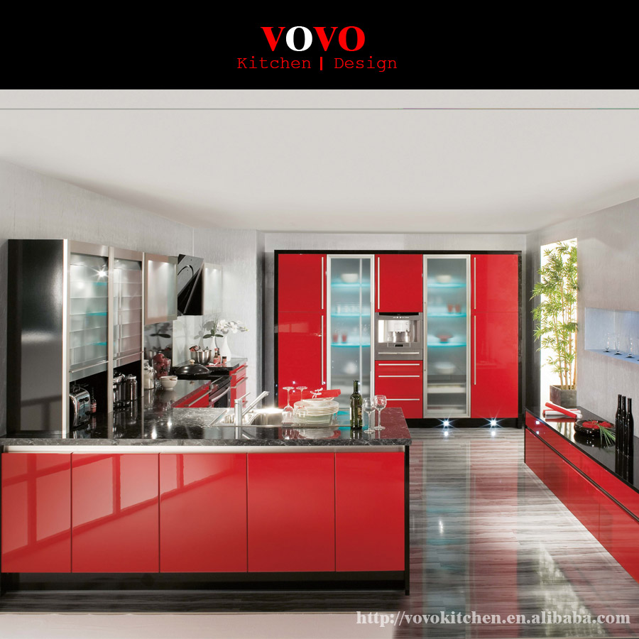 Kitchen Cabinets Red popular red kitchen cabinets-buy cheap red kitchen cabinets lots