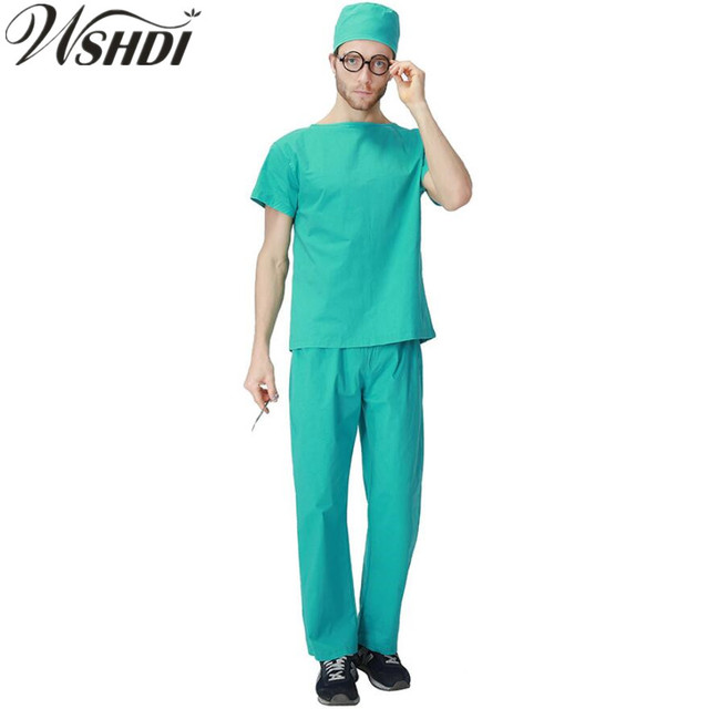 2018 New Adult Men Nurse Costume Adult Halloween Costume Cosplay Male Medical Work Uniforms  sc 1 st  AliExpress.com & 2018 New Adult Men Nurse Costume Adult Halloween Costume Cosplay ...