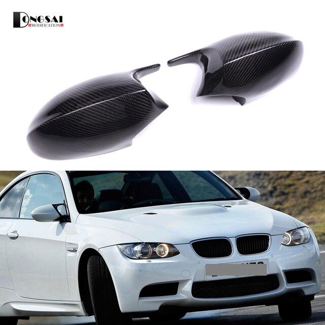 New Good Quality Carbon Fiber M3 Look Mirror Cap For BMW 3 Series E90 E91 2005-2007 E92 E93 pre-LCL 2006-2009 Rear Cover