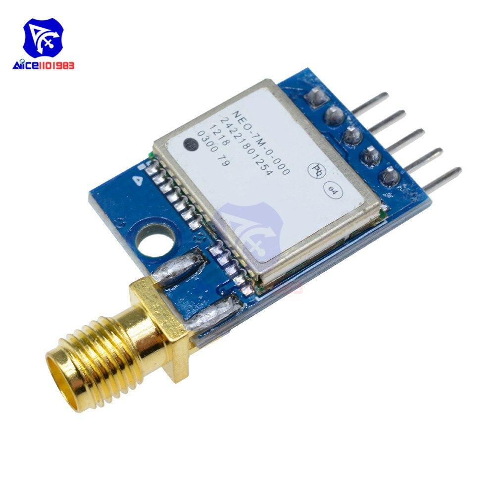 Carte de positionnement par Satellite du Module GPS de NEO-7M 51 MCU SCM pour le Module GPS Arduino STM32 C51Carte de positionnement par Satellite du Module GPS de NEO-7M 51 MCU SCM pour le Module GPS Arduino STM32 C51