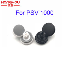 2 pçs branco preto 3d tampa de manche analógico para psv1000 botão joystick rocker cap para psvita 1000 psv 1000