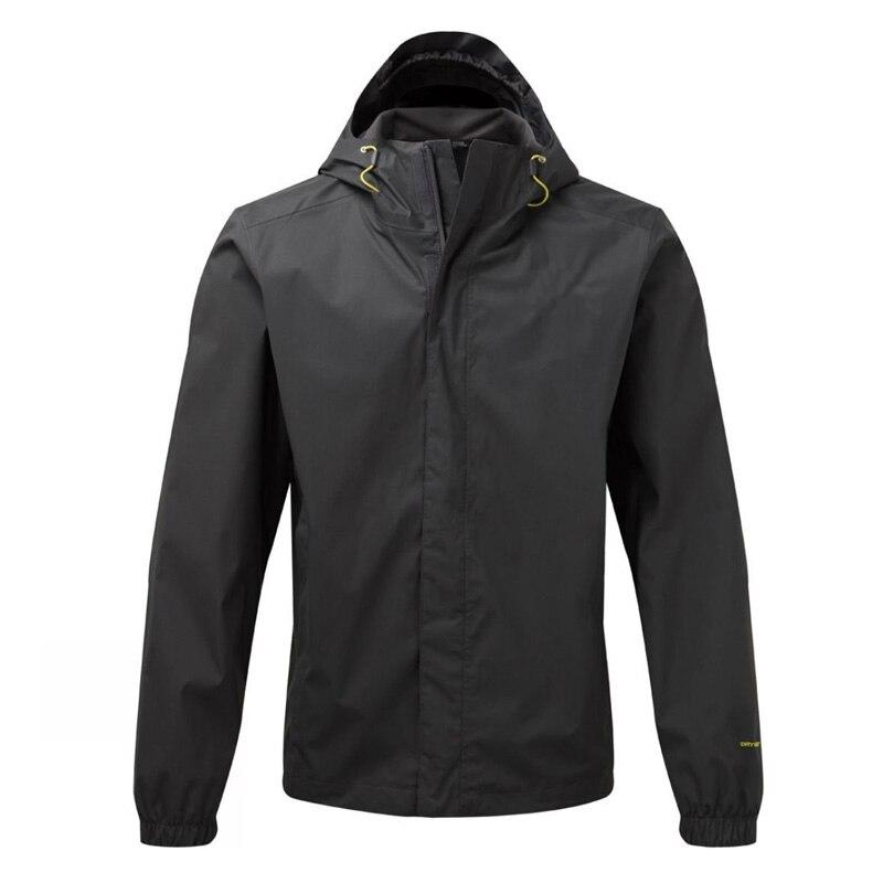 Men's Hooded Rain Jacket Waterproof Windproof Breathable Packable Raincoat Keep Dry In Rainy Day And Outdoor Activities