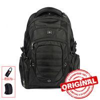 Swiss Backpack Military Backpack Male Multifunctional 38L Large Travel Bagpack Men Waterproof Laptop Backpack Sac A
