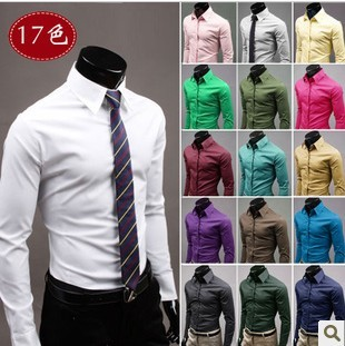 Online Buy Wholesale hot pink dress shirts for men from China hot ...