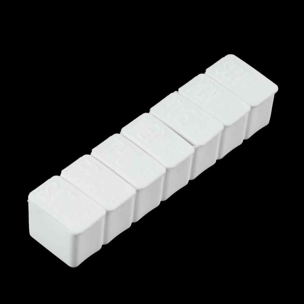 1 Pc atau 2 Pcs Satu Minggu 7 Hari Kecil Obat Pil Kotak Obat Pemegang Mingguan Tablet Mini Kotak Obat Wadah penyimpanan Organizer Case