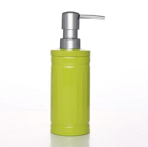 Stainless steel lotion hand sanitizer bath bottle emulsion sub-bottling bathroom hand sanitizer bottle shampoo green stainless steel hand palm odor remover lasts forever