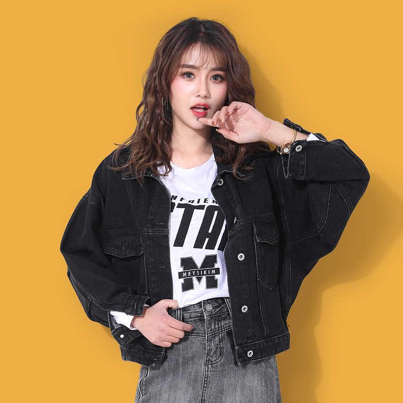 A buon mercato all'ingrosso 2019 nuovo autunno di vendita Caldo di inverno di modo delle donne Giacca di Jeans casuale FP5917