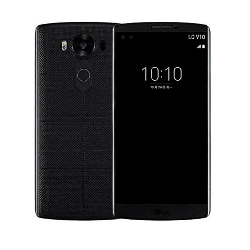 """bilder für Original Entsperrt LG V10 H901 F600 5,7 """"4 GB RAM 64 GB ROM Löwenmaul 808 3 kameras Refurbished Handy KEINE Hebräischen sprache"""